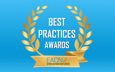 EACN – Best Practices Awards in Industrial Modernisation in the Robotic & AI category, awarded to MERASYS.